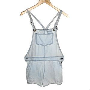 BDG Light Blue Pocketed Fitted Overall Shortall